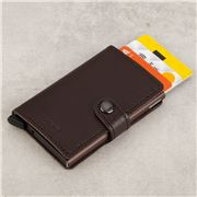 Secrid - Rango Leather Brown Mini Wallet