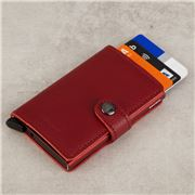 Secrid - Rango Leather Red Mini Wallet