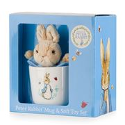 Beatrix Potter - Peter Rabbit Mug & Soft Toy Gift Set