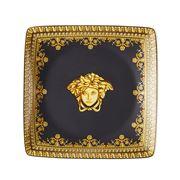 Rosenthal - Versace I Love Baroque Nero Square Dish 12cm