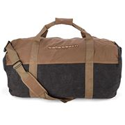 Bells Beach - Canvas Barrell Bag Brown