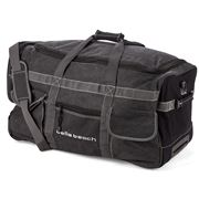Bells Beach - Canvas Wheel Bag Black
