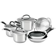 Circulon - Symmetry Stainless Steel Cookware Set 6pce
