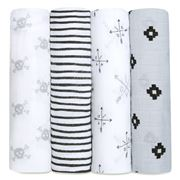 Aden and Anais - Love Truck Classic Swaddle Set 4pce