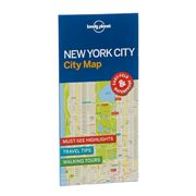 Lonely Planet - New York City City Map