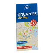 Lonely Planet - Singapore City Map
