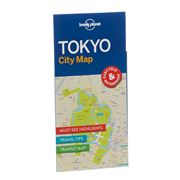 Lonely Planet - Tokyo City Map