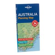 Lonely Planet - Australia Planning Map