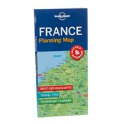 Lonely Planet - France Planning Map