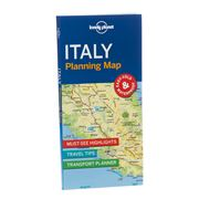 Lonely Planet - Italy Planning Map