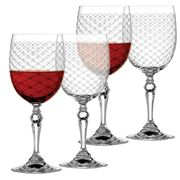 Rona - Helmsley Red Wine Glass Set 4pce 350ml