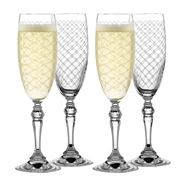 Rona - Helmsley Champagne Flute Set 4pce 170ml