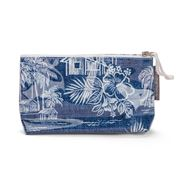 AT - Tradewinds Navy Cosmetic Bag Small
