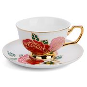 Cristina Re - Dolce Rosa Ivory Teacup & Saucer