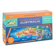 Crocodile Creek - Discover Australia Puzzle 100pce