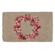Doormat Designs - Magnolia Wreath Doormat