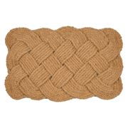 Doormat Designs - Coir Knot Natural Doormat