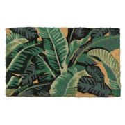 Doormat Designs - Tropical Leaves Doormat