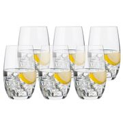 Luigi Bormioli - Accademia Tonic Water Glass Set 6pce