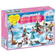 Playmobil - Advent Calendar Royal Ice Skating Trip 101pce