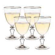 Francalia - Elysée Platinum Rim Wine Set 4pce 260ml