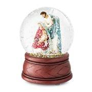 Roman Christmas - Holy Family Musical Globe