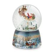 Roman Christmas - Santa's Sleigh Musical Globe
