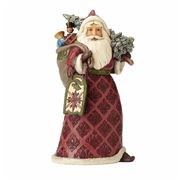 Heartwood Creek - Victorian Santa With Toy Bag Figurine