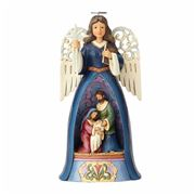 Heartwood Creek - Nativity Angel with Wings Figurine