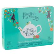 English Tea Shop - Organic Wellness Collection Blue Tin