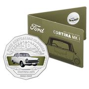 RA Mint - Ford Collection Cortina MK1 50 Cent Coin Pack