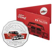 RA Mint - Ford Collection XY Falcon GT-HO 50 Cent Coin Pack