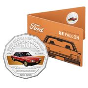 RA Mint - Ford Collection XE Falcon Ghia ESP 50c Coin Pack