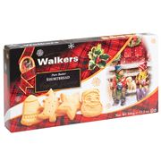 Walkers - Festive Shapes Shortbread 350g