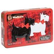 Walkers - Scottie Dog Shortbread Shapes Tin 220g