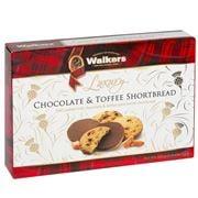 Walkers - Luxury Chocolate & Toffee Shortbread 160g
