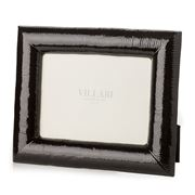 Villari - Medium Pyton Photo Frame Shiny Black