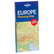 Lonely Planet - Europe Planning Map