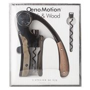 L'Atelier Du Vin - Oeno Motion Black & Wood Corkscrew