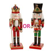 Raz - Trimmed With Tradition Nutcracker 25cm