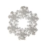 Raz - First Snow Snowflake Wreath Ornament