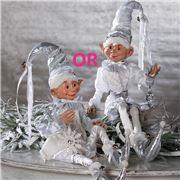 Raz - First Snow Posable Elf 76cm