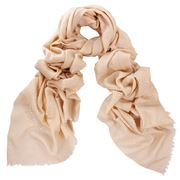 DLUX - Valentine Sand Embroidered Wrap