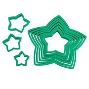 Avanti - Star Christmas Tree Cookie Cutter Set 10pce