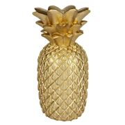 SunnyLife - Gold Pineapple Candle Large