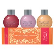 Crabtree & Evelyn - Christmas Bauble Trilogy 3x100ml