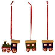 V&B - Nostalgic Christmas Ornament Train Set 3pce