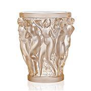 Lalique - Bacchantes Small Gold Lustre Vase
