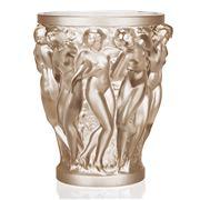 Lalique - Bacchantes Large Gold Lustre Vase