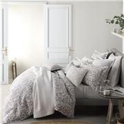 Private Collection - Newbury Quilt Cover Set Silver Queen